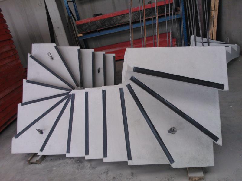 vema beton trappen en bordessen in prefabbeton. Black Bedroom Furniture Sets. Home Design Ideas